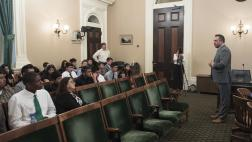 Assemblymember Gray meets with Student Constituents at State Capitol