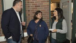 Assemblymember Gray meeting with constituents at Holiday Open House