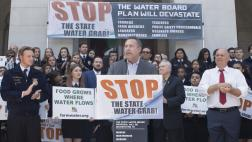 Assemblymember Gray at Water Grab Rally in Sacramento