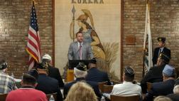 Assemblymember Gray Speaks to the American Legion